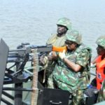 Navy Destroys 50 Illegal Refineries in Delta Creeks